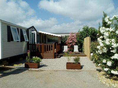 Photo for SPACIOUS MOBILHOME 3 ROOMS CLIMATISE