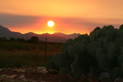 Hummingbird Ranch has the sunrises and sunsets of your dreams........