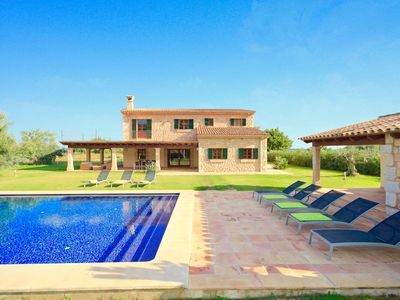 Photo for Catalunya Casas: Tranquil Villa Ferrero up to 8 guests, 5 min drive to Sa Pobla town!