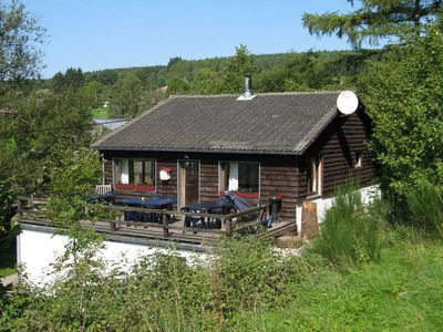 The cottage is a beautiful chalet and fully renovated
