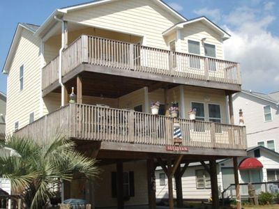 Large House with Plenty of Deck to Enjoy the Outside and View of the Ocean!