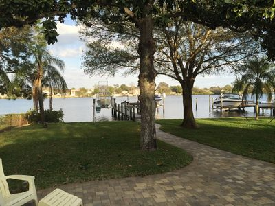 Photo for Gorgeous Waterfront Property w/ Access To Gulf And Tarpon Springs