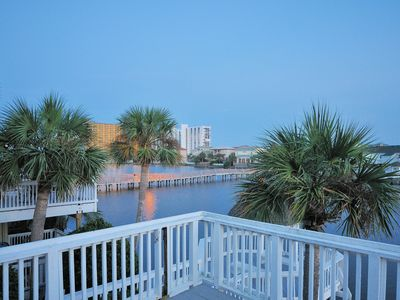 Photo for CLOSE TO BEACH! Waterfront * Complimentary Beach Service * WiFi * Front Door Pkg
