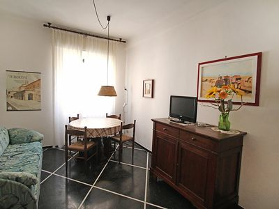 Photo for Apartment in the center of Santa Margherita Ligure with Lift, Balcony, Washing machine (501573)
