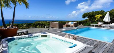 Villa Costa Nova  -  Ocean View - Located in  Stunning Gouverneur with Private Pool