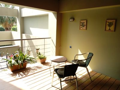 Photo for Blue apartment close to Port, TEI / wifi+ PARKING
