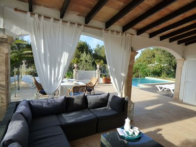 Photo for LOVELY VILLA CLOSE TO THE BEACH, ALL AMENITIES