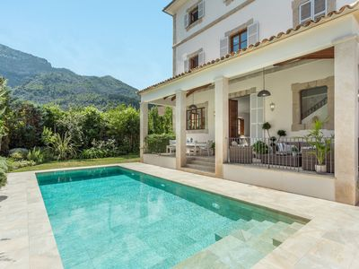 Photo for Historic Villa, Central Soller, Private Pool (heating optional), parking