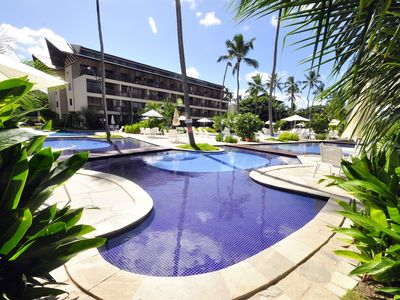 Photo for Luxury flat with 2 suites Nannai Residence by the sea in Porto de Galinhas in 12X