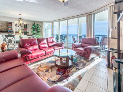 Photo for ☀Long Beach Resort 1-503-2BR☀Huge Balcony! Gulf Views! Aug 22 to 26 $1280 Total!