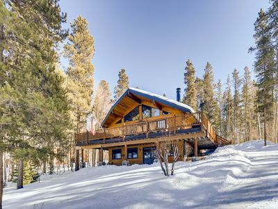 Photo for Sept/Oct Deal* Escape the city, hunker down & enjoy Best designer cabin in Breck
