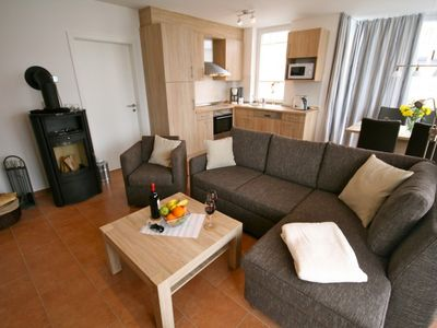 Photo for Beautiful 3 bedroom apartment with a fireplace, sauna and W-Lan