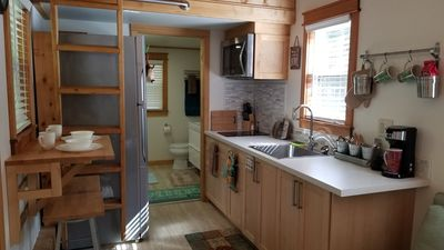 Photo for Creekside Tiny home in Bryson City,NC