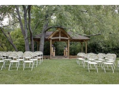 Photo for Cherry Log Pavilion-Events Venue-CALL OFFICE FOR PRICING AND BOOKING-Now Available for Weddings and