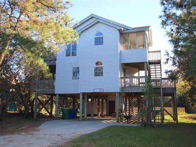 Photo for #CV6: OCEANSIDE Home in Corolla w/HtdPool & HotTub, Dog Friendly