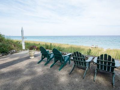 Photo for Historic Lake Michigan Lakefront Home in the Village of Leland