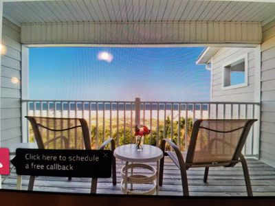 Photo for Snowbirds...Enjoy the Beach from Your Balcony!!Elevator in Unit!  Location +...