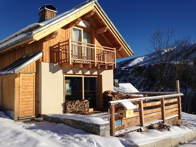 Photo for Superb high-end chalet in Valloire - 4 stars & 10/12 pers - 98m2 - 4 bedrooms