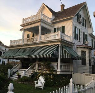 Photo for Cape May 8BR Sleeps 24; 3 Blks to Beach/Town; Dogs OK (2)!