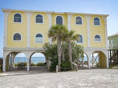 Photo for 6 BR ~ Gulf Front ~ Sleeps up to 18 ~ Beach Stop 2