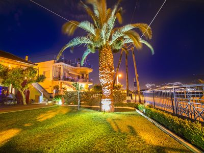 Photo for Waterfront Villa on the beach. Family friendly house for calm holidays.