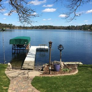 Photo for Lakefront rental on Pine Lake, a full recreational lake near Waupaca, Wi.