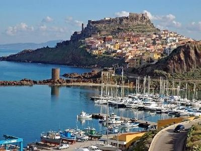 Photo for Castelsardo North Sardinia, a vintage house in the Heart of the Asinara Gulf
