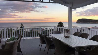Amazing sunsets and gorgeous views - all just 2 mins walk to the beach!