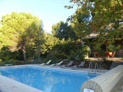 Photo for Provencal house ten minutes walk from Lourmarin at the foot of the Luberon