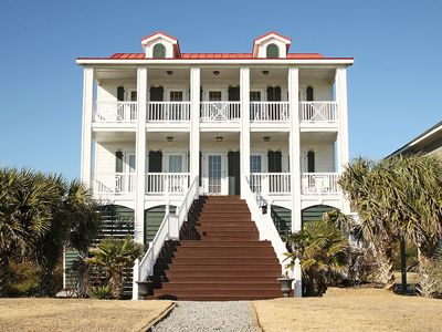 Photo for Rose Dew: Enjoy Ocean Views from Grand Southern Porches with Your Canine Sidekicks