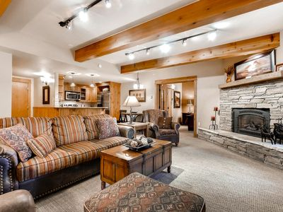 Photo for Perfectly remodeled condo close to the gondola, music & mountain activities