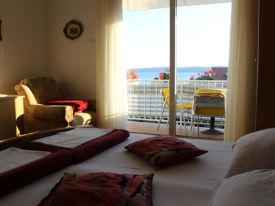 Photo for Two bedroom apartment with balcony and sea view Selce, Crikvenica (A-4801-a)