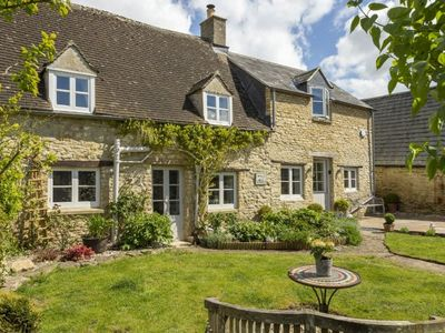 Photo for Nestled in the pretty Cotswolds village of North Cerney is Mole End Cottage sleeping 4 guests.