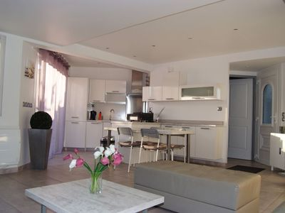 Photo for Villa 3 *, 6 people, fully equipped, trade and beach walk 5 minutes