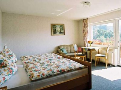 Photo for Double Room with Balcony 2 - Gasthaus Zum Pälterwald