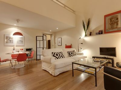 Photo for Filippo's loft modern and spacious. Historical center.