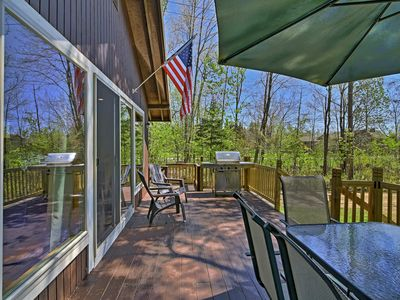 Photo for Lakefront Speculator Home w/Deck Near Oak Mountain