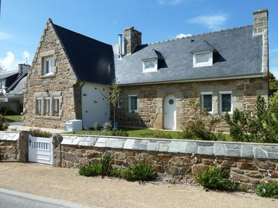 Photo for HOUSE OF CHARACTER CENTER BOURG 900M BEACHES ON THE COAST OF GRANITE PINK