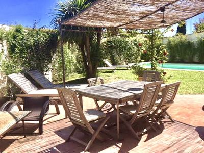 Photo for Family house with swimming pool 5 minutes from Aix En Provence