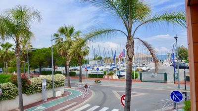 "Photo for LUXURY STUDIO FACE BEACH VILLENEUVE LOUBET / ANTIES ""MARINA PORT BAIE DES ANGES"""