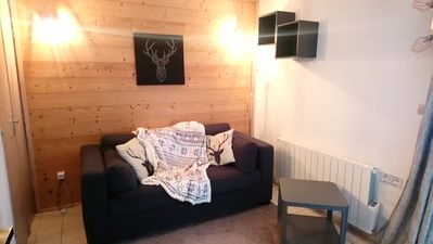 Photo for Renovated studio montriond near morzine