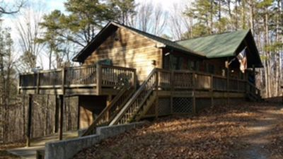 Photo for 3BR Cabin Vacation Rental in Talking Rock, Georgia