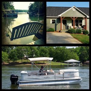 Beautiful Lake House With Pontoon Boat Available! Jet Ski Rental Also Available