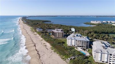 Photo for Oceanfront, IRP. Completely renovated 2 bed/2bath with country club membershi