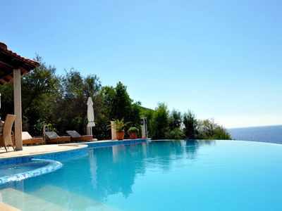 Photo for Luxury Villa in Kas With Panoramic Views And Direct Access To The Sea