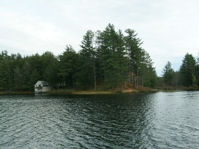 Photo for LONG POND CABIN SURROUNDED BY WATER  w/Great Private Beach