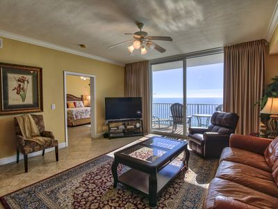 Photo for Beautiful 15th Floor GULF FRONT Condo!!  INCLUDES BEACH CHAIRS!