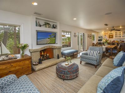 Photo for Tranquil home w/ ocean views & bocce ball court! DOG FRIENDLY!