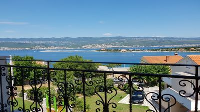 Photo for Holiday apartment s balcony and panoramic view pogledom na more