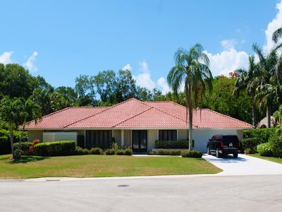 Photo for Gorgeous 4 BED / 3 BATH / 2 Car Garage Home on Sewalls Point with Pool and Hot Tub!